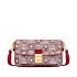 Umhängetasche Vintage-Jacquard mit Monogramm