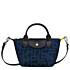 Le Pliage LGP XS Handtasche letterprint