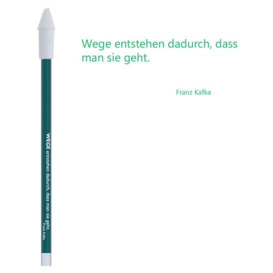 Bleistift grün, Kafka