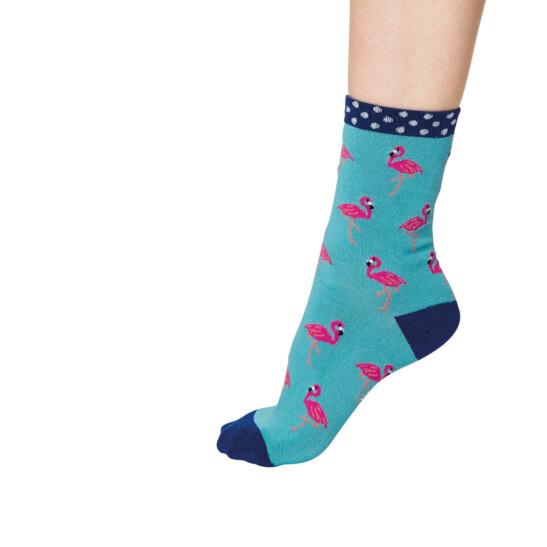 Rosa Flamingo Socke