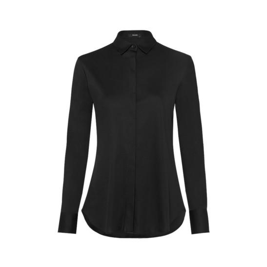 Moderne Jersey Bluse für jeden Tag