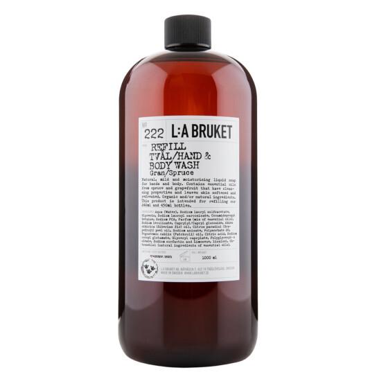 No. 222 Hand&Body Wash Spruce REFILL