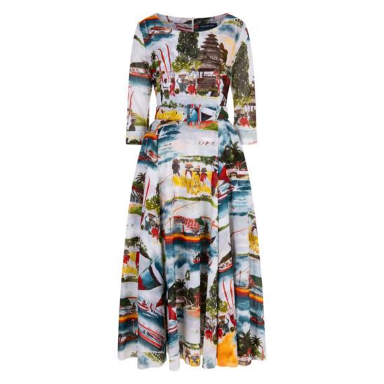 Avenue Dress Bali Scenery