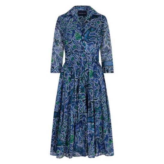 Audrey Dress Greek Mosaik