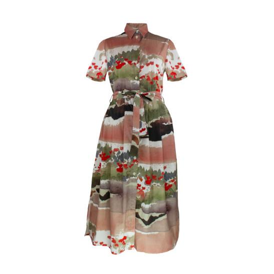 Kleid Vida Mohn