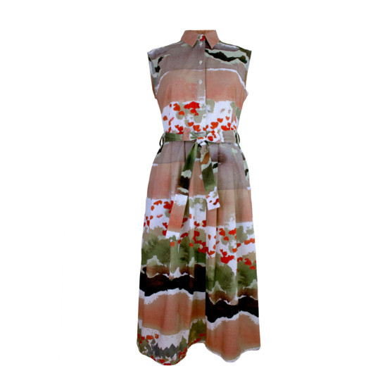 Kleid Mida Mohn