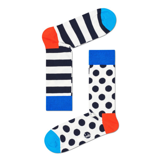 Stripe Dot Socke