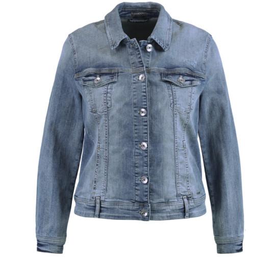 Jeansjacke aus Stretch-Denim