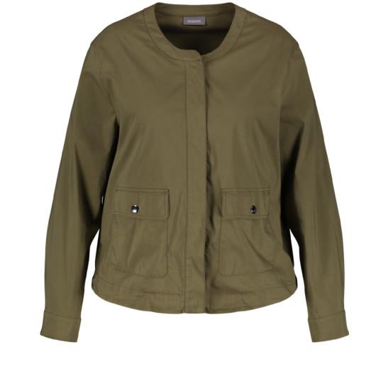 Leichte Blouson-Jacke aus Organic Cotton