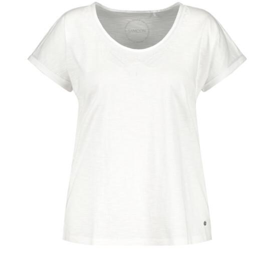 Modernes Basic-Shirt aus GOTS zertifizierter Bio-Baumwolle
