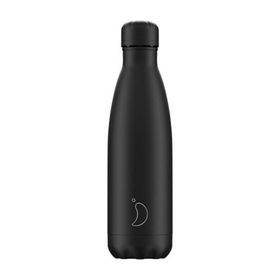 Trinkflasche Chilly´s Schwarz