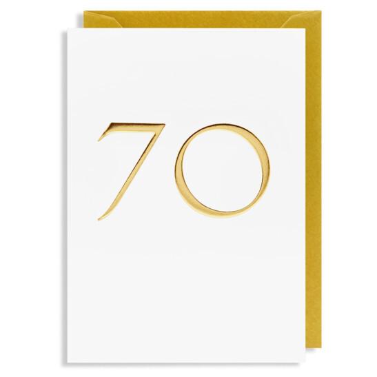 Grußkarte 70