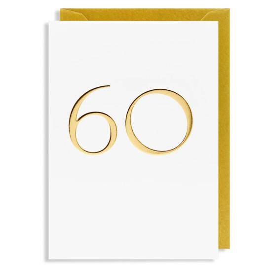 Grußkarte 60