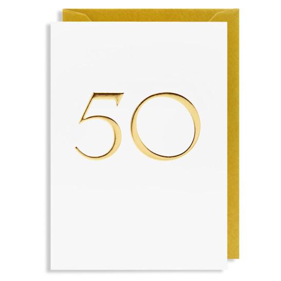 Grußkarte 50