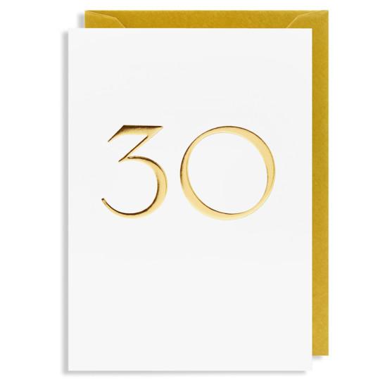 Grußkarte 30